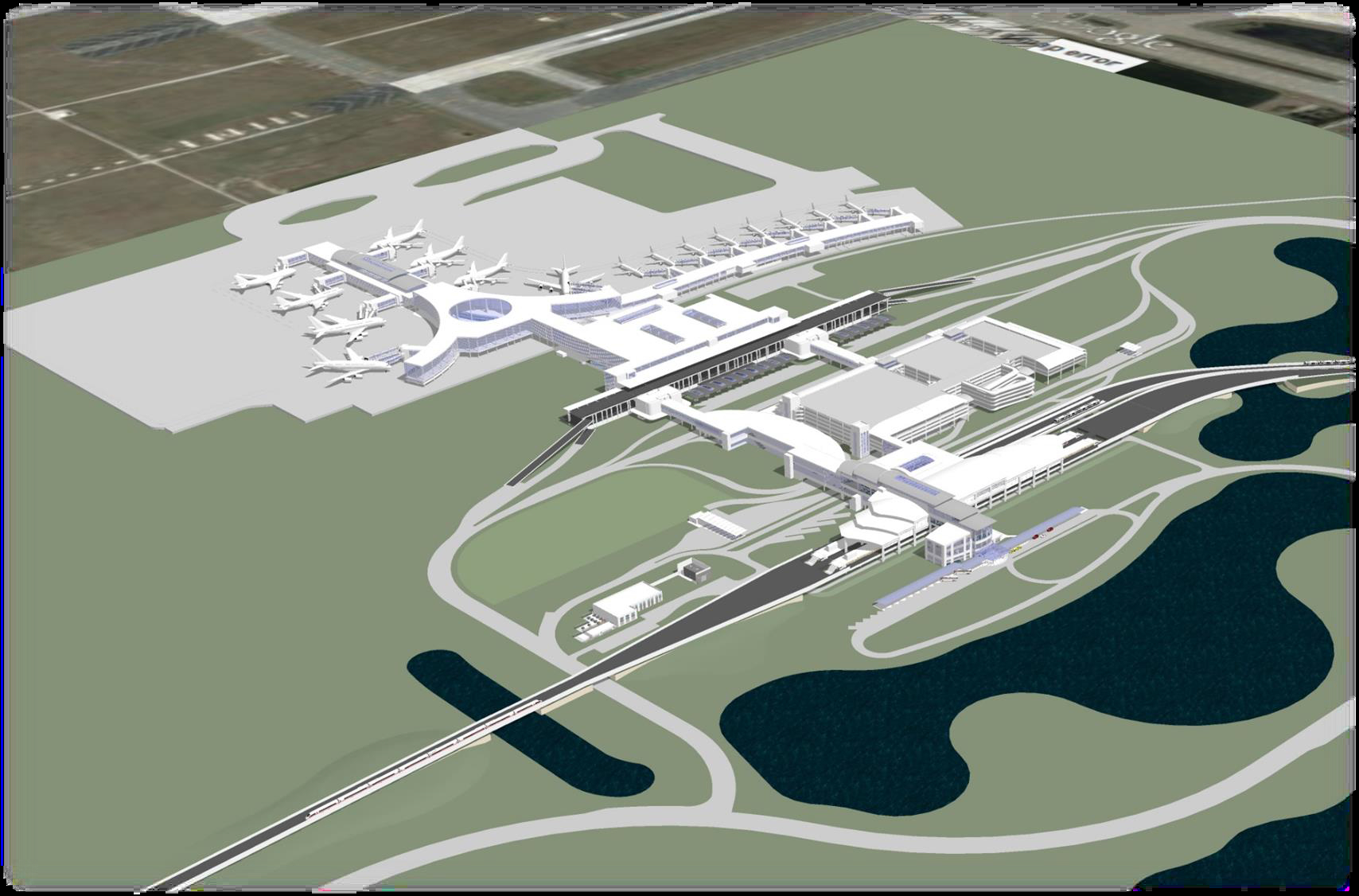 Greater Orlando Airport Authority Construction Management at Risk Services for the South Terminal C - Landside Terminal