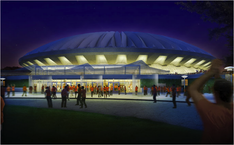 University of Illinois Champaign-Urbana State Farm Center Renovation